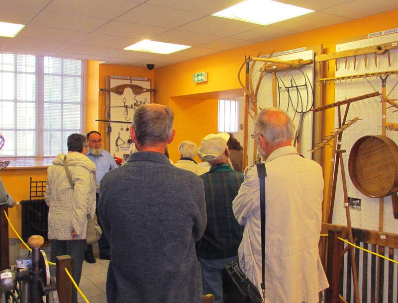 Visite du Musée des Vieux Outils